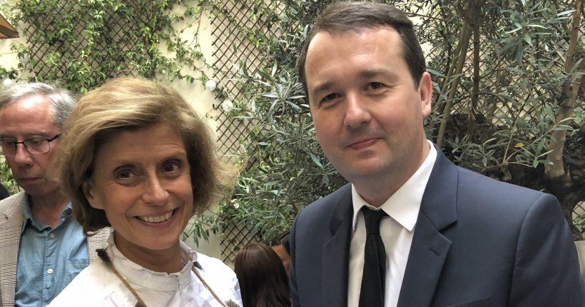 Clarisse Reille - Défi et Pierre-François Le Louët - Fédération du Prêt à Porter Féminin