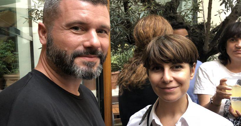 Nicolas Baurain et Karine Lecchi