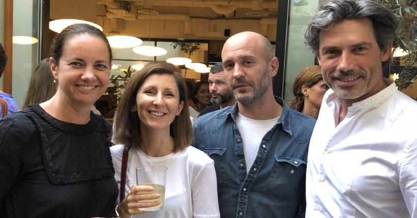 Adeline Dargent - Syndicat de la Mode, Marie Dall'Arche - U.N.X, Guillaume Lambert - Coach du Programme TALENTS et Yann Rivoallan - The Other Store
