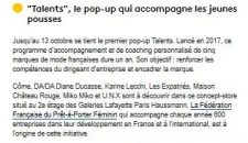 Pop-up Talents – France info – 26-09-2019